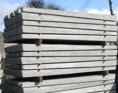 Concrete Posts Stock